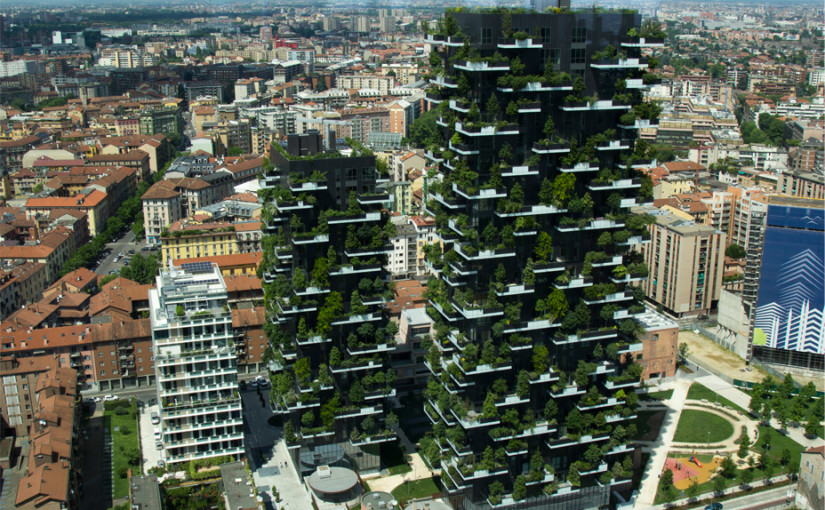 Green architecture design: how to colour the city with nature